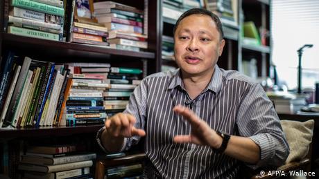 Hong Kong pro-democracy professor fired for 'doing evil'