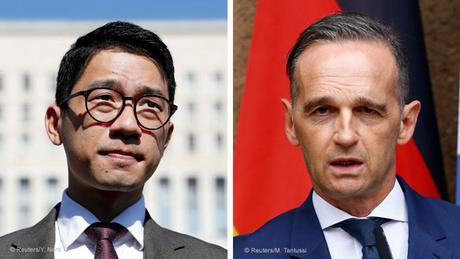 Prominent Hong Kong activist urges Germany's Maas to take tougher China stance