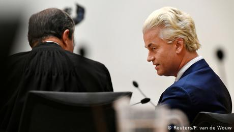 Dutch court overturns far-right leader Geert Wilders' discrimination conviction