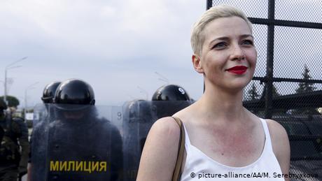 Maria Kolesnikova: Belarusian musician, Lukashenko opponent