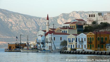 Greece and Turkey bicker as island seeks pandemic relief