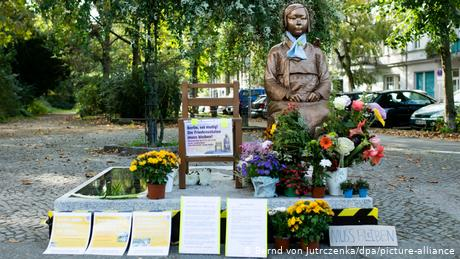 Berlin halts demolition of 'comfort women' memorial amid diplomatic row with Japan