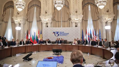 Three Seas Initiative summit in Bucharest, 2018