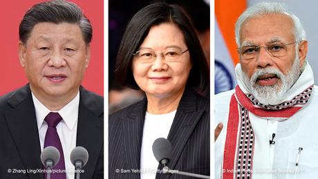 China tensions push India and Taiwan closer together