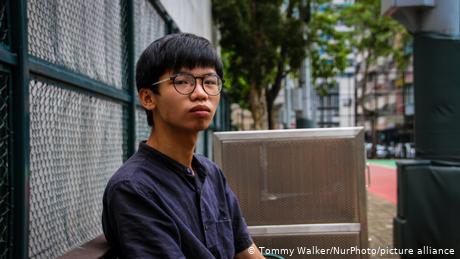 Hong Kong: Teenage student charged with secession