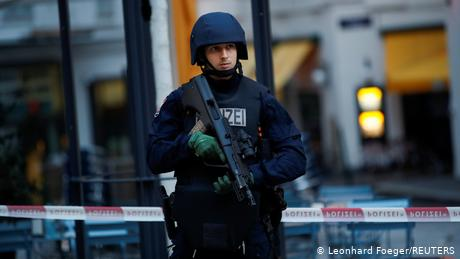 Vienna terror attack: Police launch massive manhunt