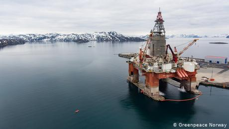 Top Norway court hears 'stop oil drilling' case