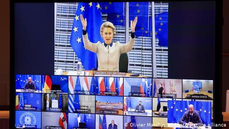 EU leaders clash over Hungary and Poland budget veto