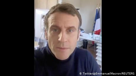 Macron said he had the same symptoms as thousands of other people