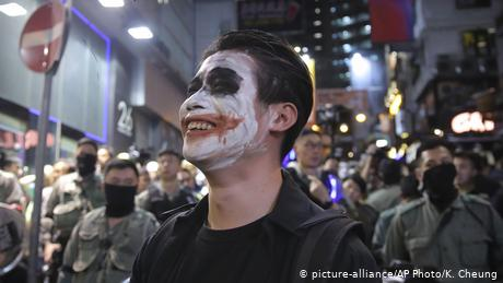 The mask ban was largely symbolic, with many demonstrators refusing to comply
