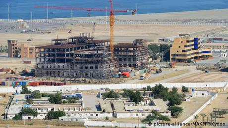 Gwadar is at the center of the $50 billion (€41 billion) China-Pakistan Economic Corridor (CPEC) project