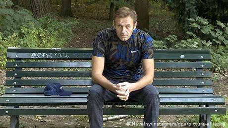 Navalny has been recovering in Germany after an attempt on his life