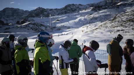 Unlike some of its neighbors, Switzerland has kept its ski slopes open