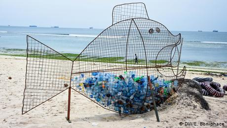Plastic trash often lands in the ocean after being sold by rich countries to poorer ones