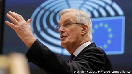 EU chief Brexit negotiator Michel Barnier said the latest UK offer on fish was 'unacceptable'