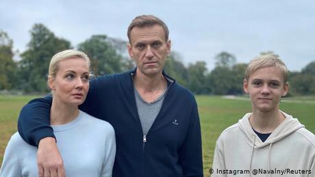 Navalny and his family have been in Berlin since August