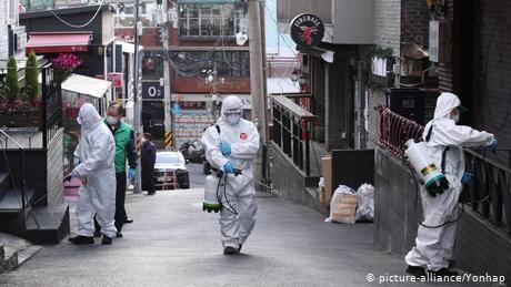 South Korea fears second spike of coronavirus