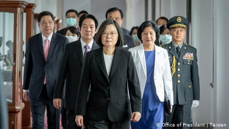 China: Reunification 'inevitable' as Taiwan's Tsai starts second term in office