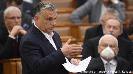 Hungary halts state funds for key Orban rivals