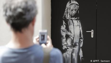 Banksy's stolen Bataclan tribute recovered in Italy