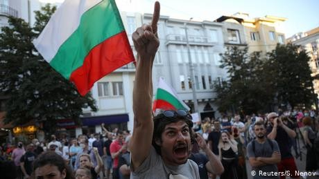 Political clashes in Bulgaria spark protests and outrage