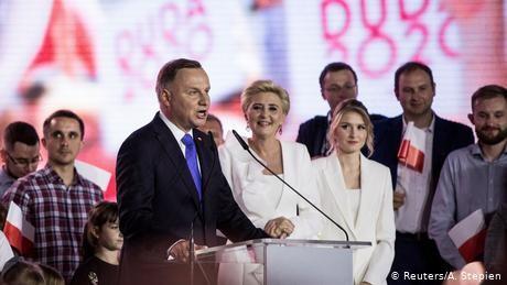 Poland's Andrzej Duda wins 2nd term by narrow majority