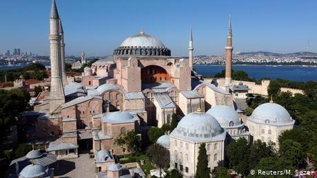 Haghia Sophia mosque plan draws Turkish-German criticism