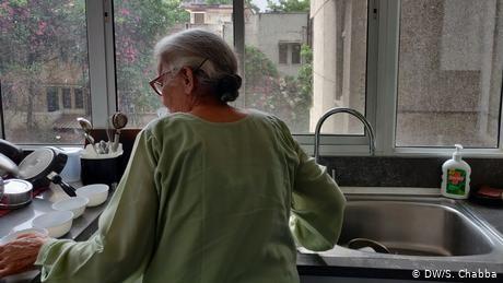 Coronavirus: A new way of life for India's elderly