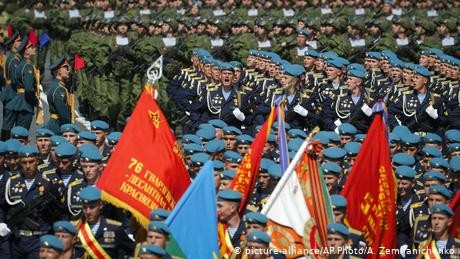 Russia marks WWII Victory Day with mass military parade despite COVID-19