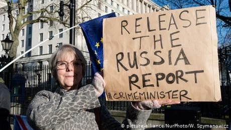From Russia with love? UK government sits on hot-button report