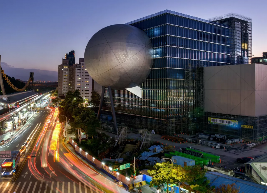 Taipei Performing Arts Centre, in Shilin(TPAC photo)