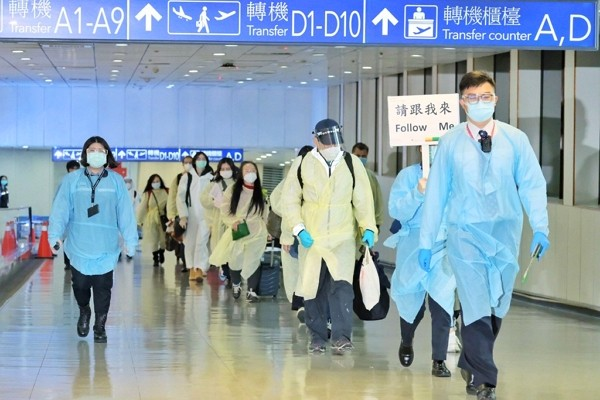 106 Taiwan arrivals with UK travel history test negative for COVID-19