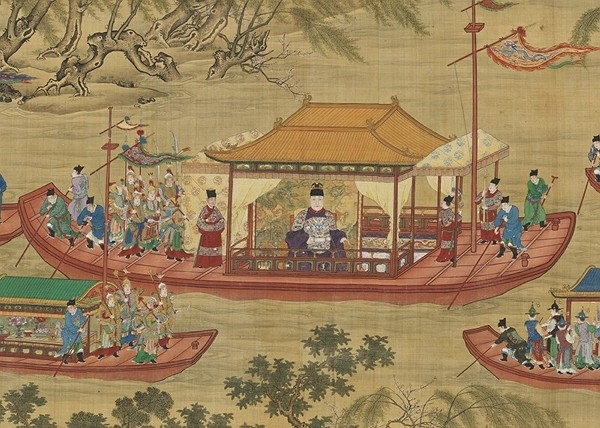 One of the national treasures featured in the exhibition. (National Palace Museum photo)