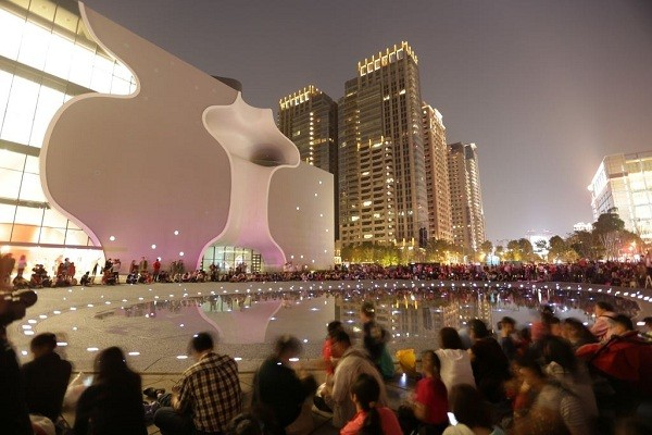 The National Taichung Theater (Taichung City Government photo)