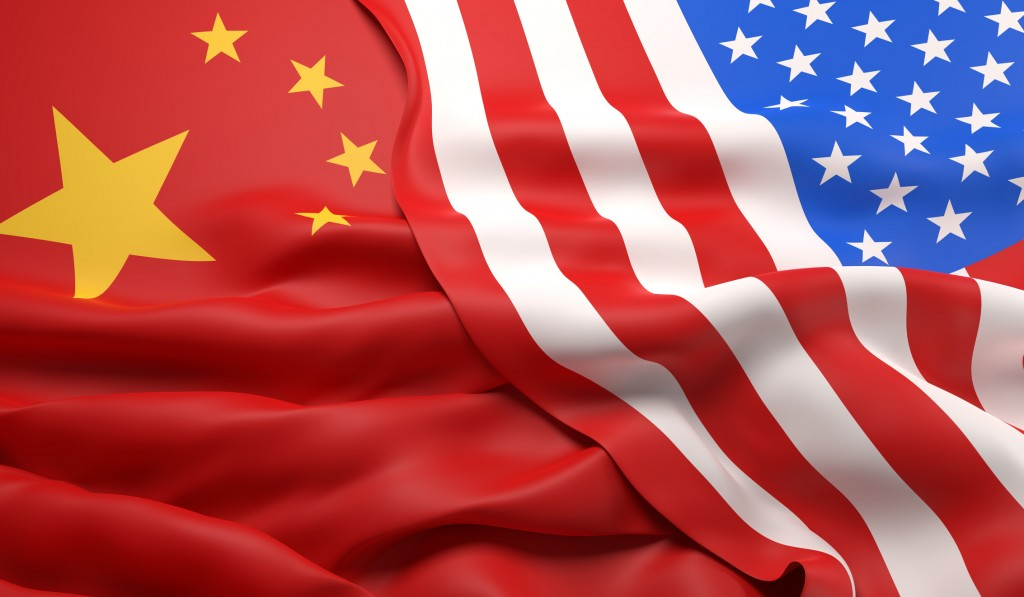 US and Chinese flags (Getty Images)