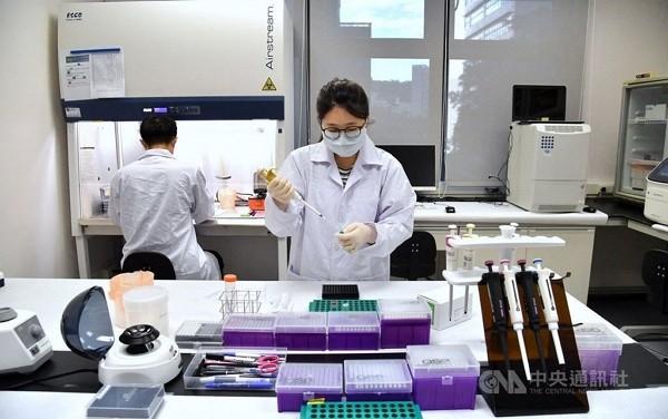 Researchers at Medigen Vaccine Biologics Corp.