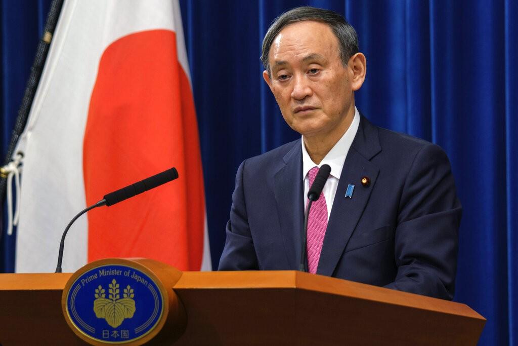 圖為日本首相菅義偉。(圖/美聯社)