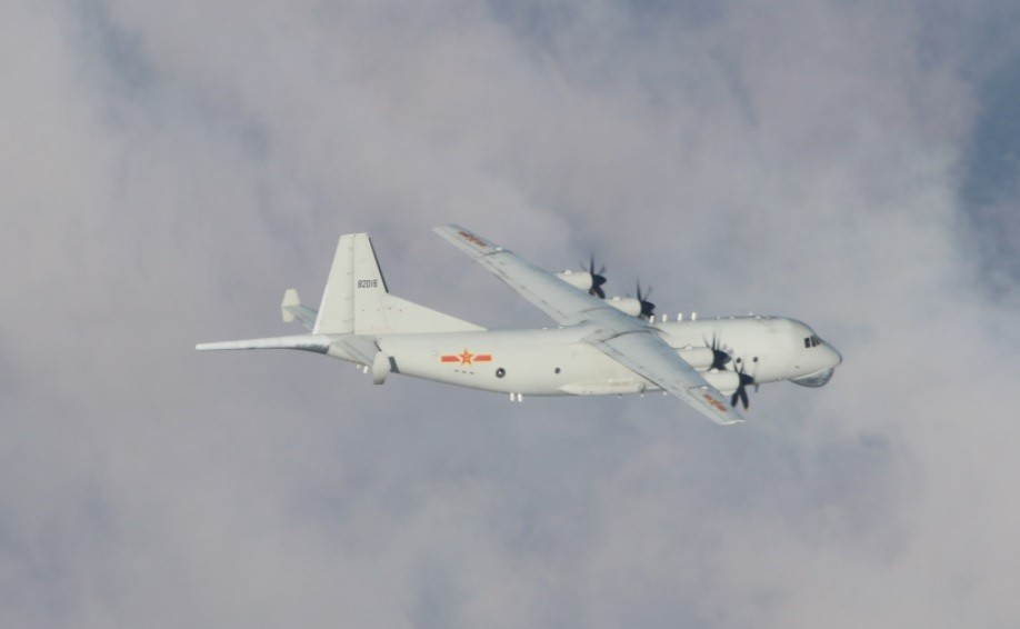 Chinese Y-8 ASW on Jan. 6 (MND photo)