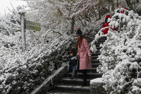 Another cold air mass forecast to hit Taiwan on Monday