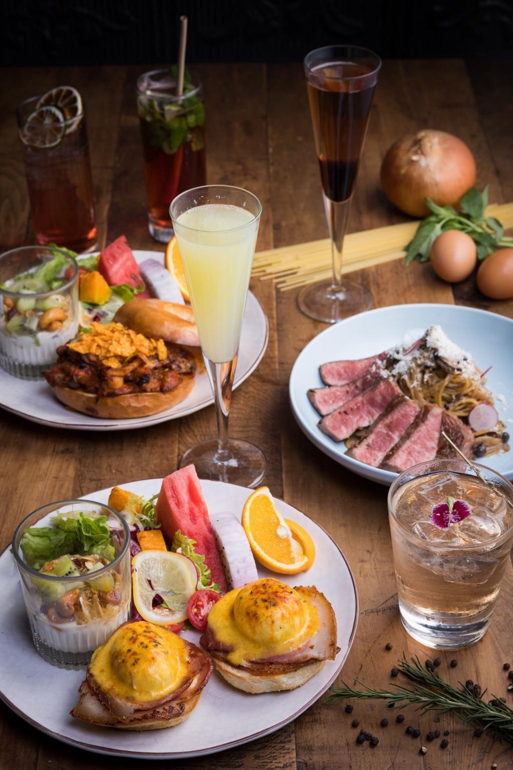 2021 讓我們早上9點就開喝! 333 RESTAURANT & BAR 早午餐 320元+10%起