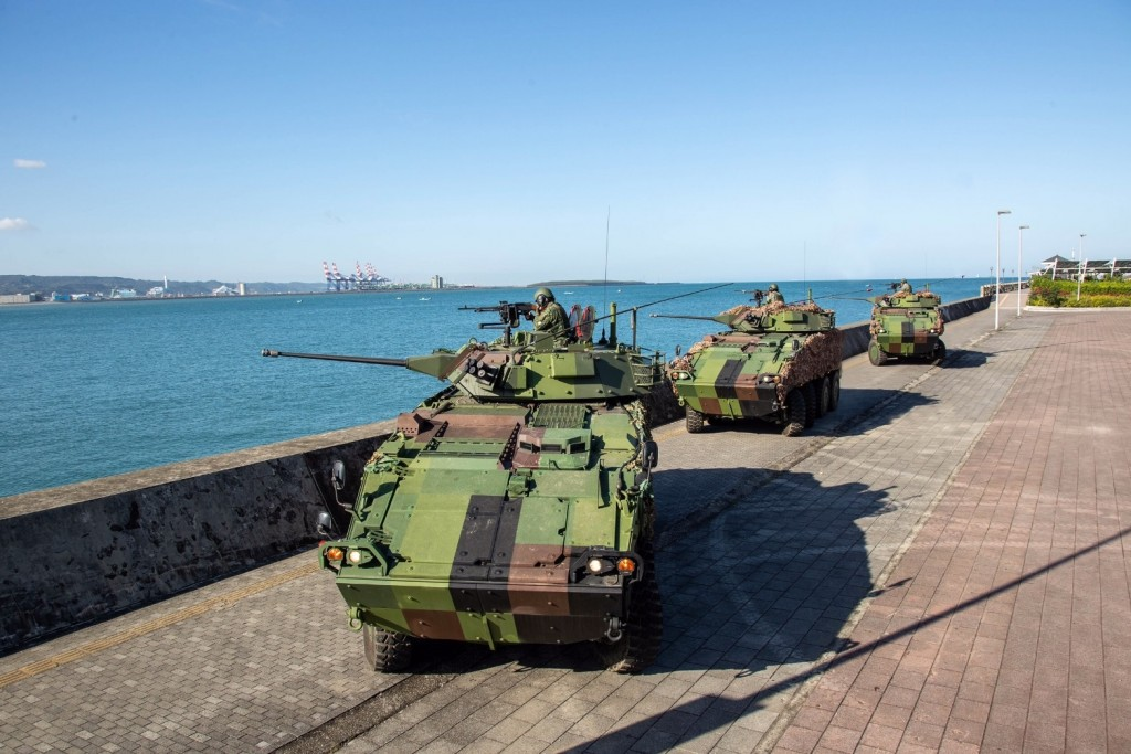 CM-34 armored vehicles (Facebook, Taiwan Army photo)