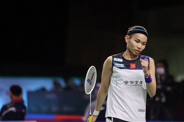 Taiwanese badminton player Tai Tzu-ying. (Badminton Association Of Thailand photo)