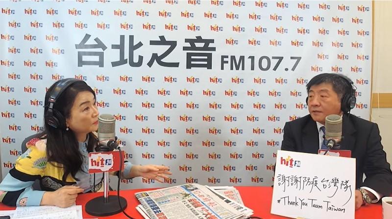 資料照片(圖為20200527《周玉蔻嗆新聞》專訪衛福部長、中央流行疫情指揮中心指揮官陳時中)