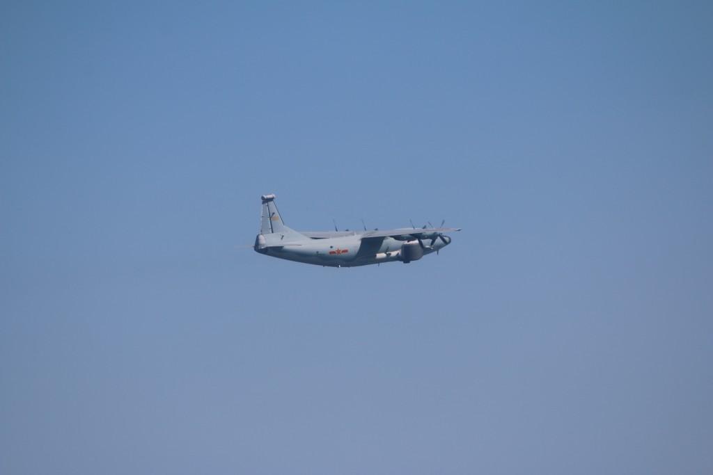 Three Chinese military aircraft intrude into Taiwan's ADIZ