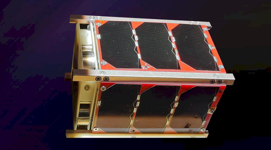 YUSAT CubeSatcan monitor ground traffic and improve maritime navigation safety. (NSPO image)