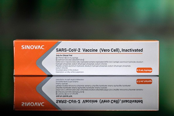Sinovac Covid vaccine. (gettyimages)