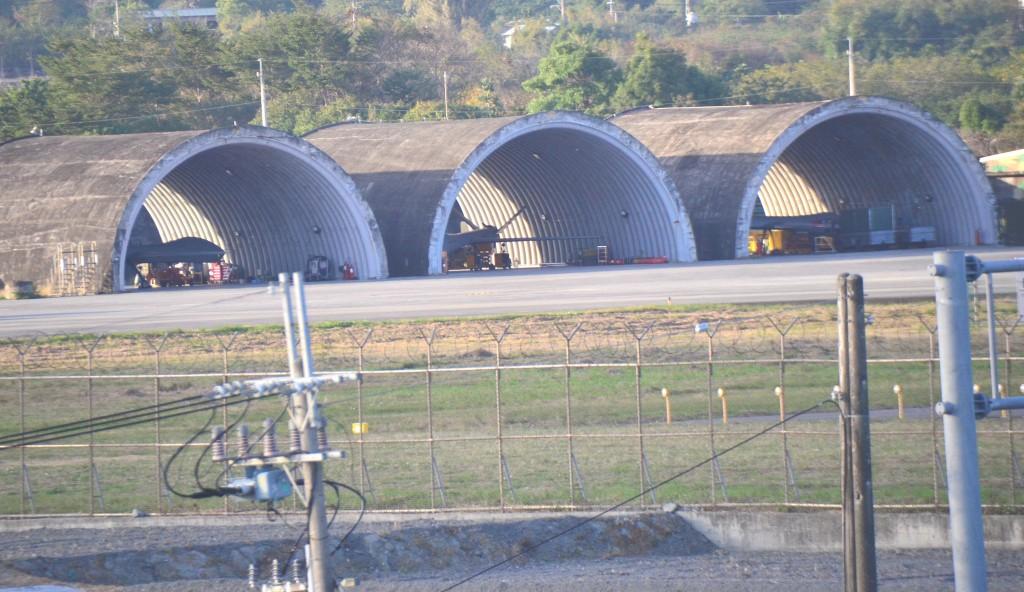 Teng Yun drones at Taitung airbase
