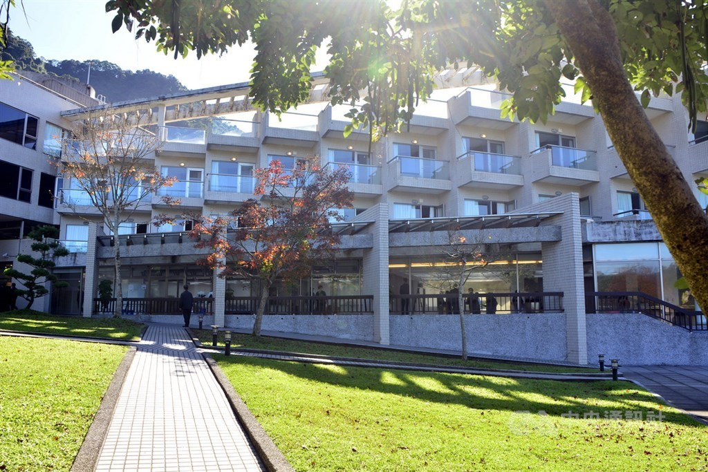A quarantine center in Wulai, New Taipei City