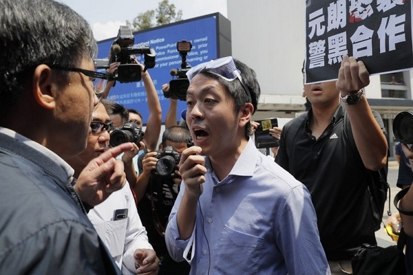 Former Hong Kong lawmaker Ted Hui.