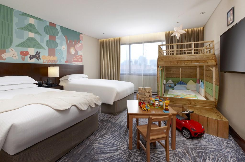 台北喜來登大飯店全新「親子主題客房」